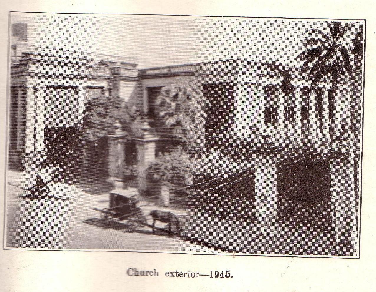 church exterior 1945