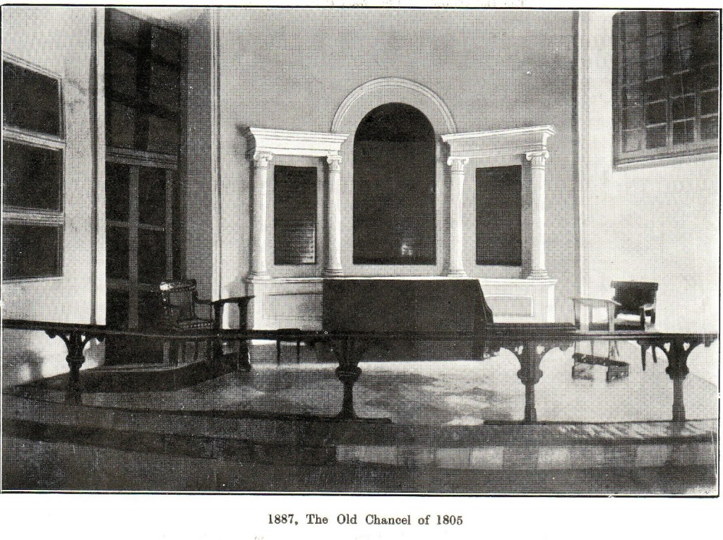 old chancel 1805