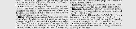 Thomas's Universal Pronouncing Dictionary of Biography and Mythology, 1887